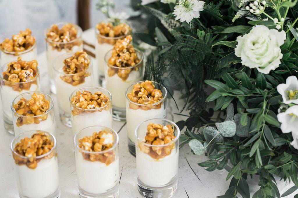 Dessert table at Intercontinental Davos styled by international wedding planner Elisabetta White